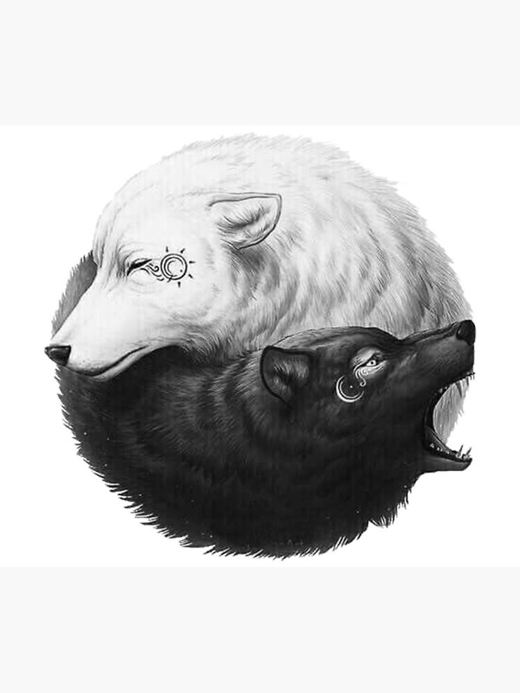 La légende des deux loups